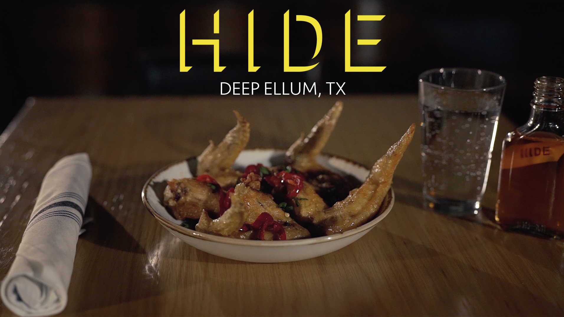 Hide Bar – Chicken Wings Promo
